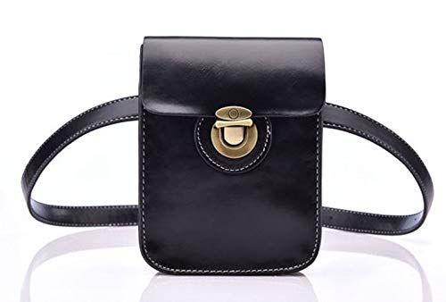 dbdd4d5608 Blue Stones Fashion Women  s Small Waist Bag Fanny Pack PU Leather Belt Bag  Cell