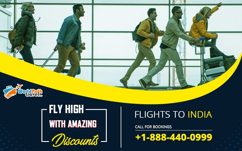 Don't miss a fantastic airfare discount. You can book flights from Usa and Canada to India. Check out the incredible #flightticketstoIndia at #Worldpathtravel.  Call: +1-888-440-0999  #bestflightdealstoindia #bestdealstoindia #ExploreIndia #TriptoIndia #SpecialDiscounts #Cheapflightstoindia #Canadatoindiaflights #usatoindiaflights
