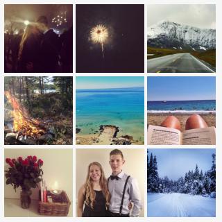 Jeg gjorde nettopp mine Instagram-bilder om til magneter med Stickygram! Få $2 rabatt på bestillingen din med FRIENDU06N #stickygram