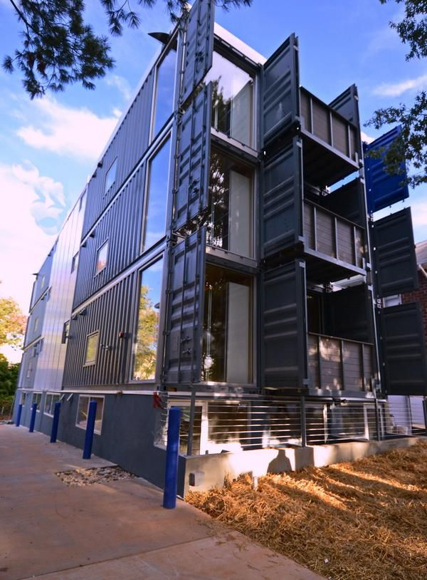 First Shipping Container Apartments In Washington Dc Container