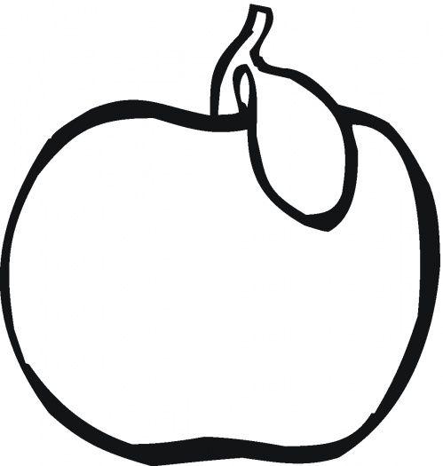 Apple color sheet   Let\'s Color!   Pinterest