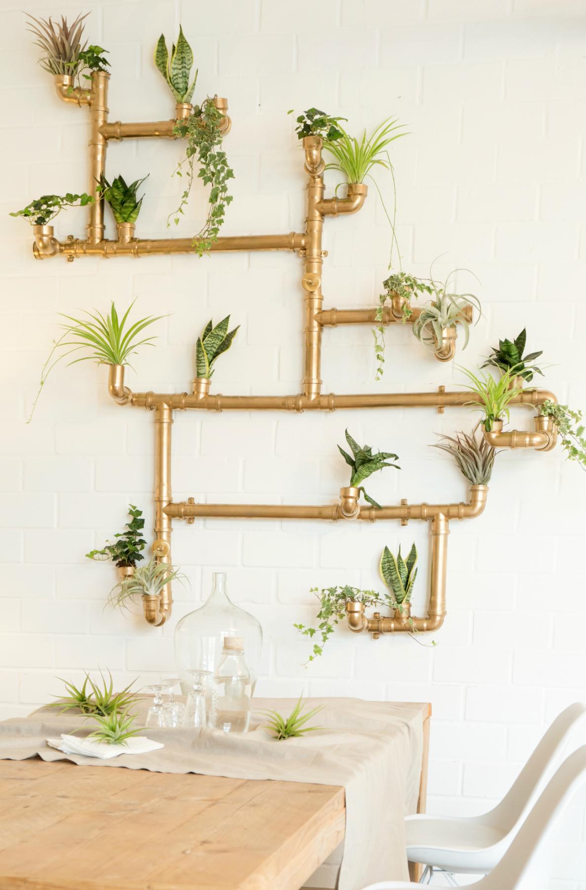 Pflanzenwand Selber Bauen diy anleitung imposante pflanzenwand selber bauen via dawanda com