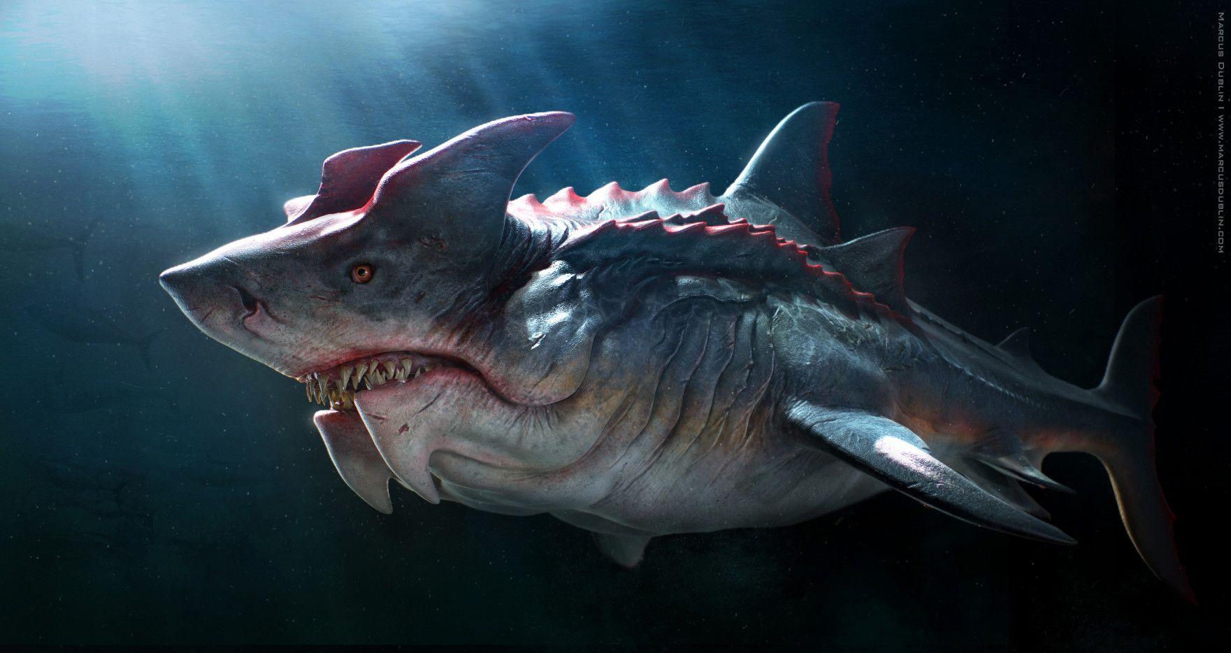 Чудовища рыб картинки