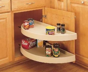 33 Inch Half Moon Shelf Pivot Slide White 6882 33 11 570 Rev A Shelf Lazy Susan Cabinets Organization