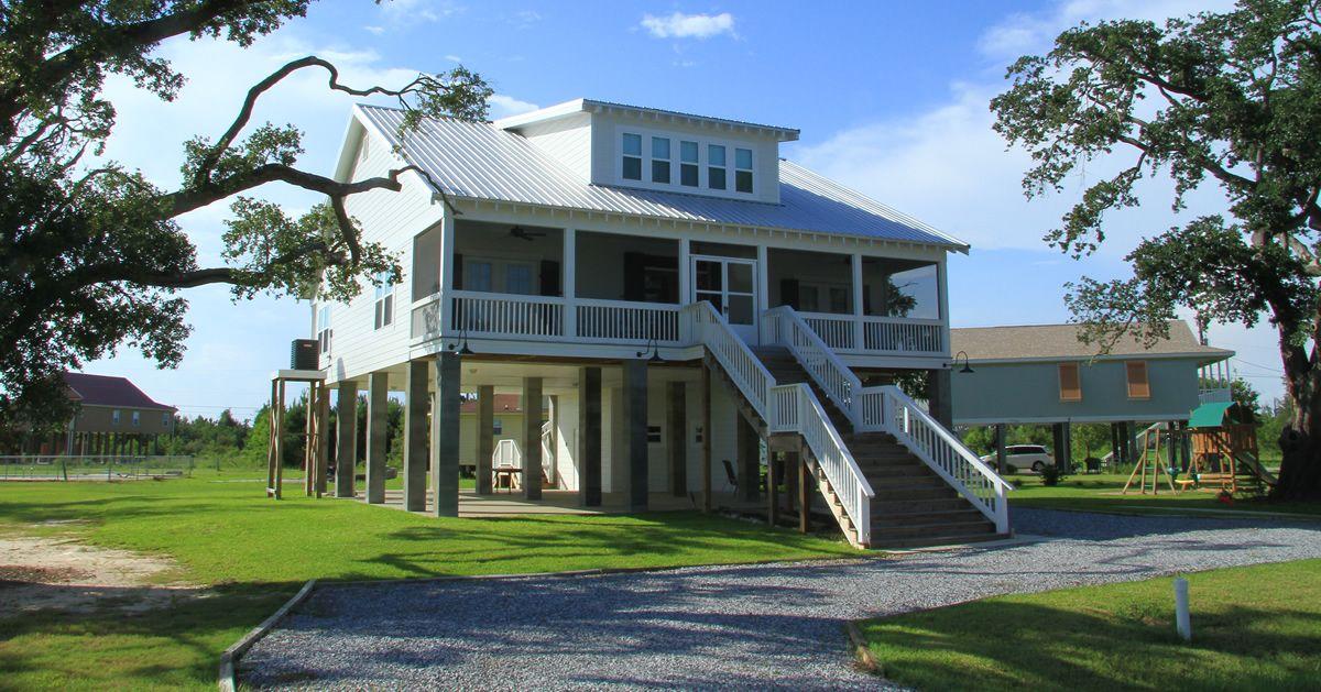 Stilt House Plans On Stilts, Custom House Plans Mississippi