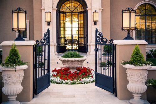 London Homes Gated Entrance