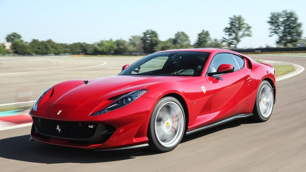 An icon worthy of Ferrari's anniversary the 812 Superfast