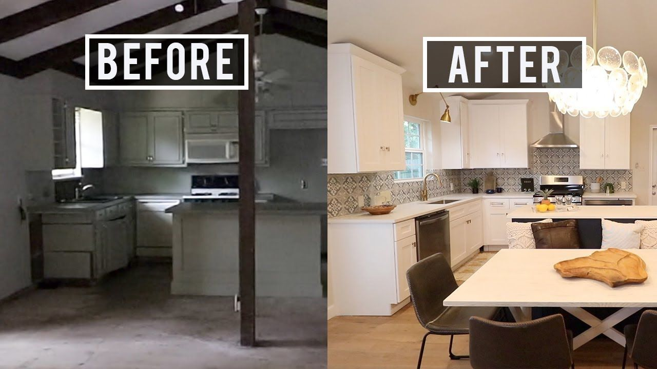 Before And After House Flip 80 000 Home Renovation Youtube Kitchen Renovation Home Renovation Home Renovation Costs