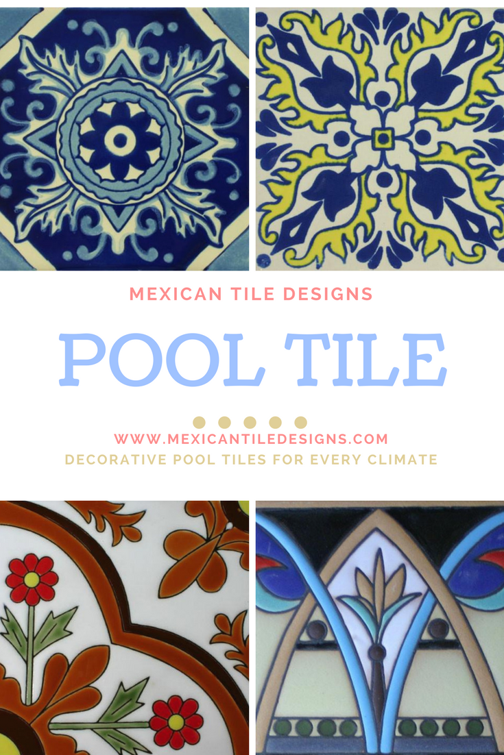 decorative pool tiles mexican tile