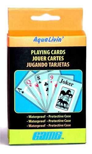 Aqualivin Waterproof Playing Cards Great For The Beach On Lake Or In Pool Gift Travel
