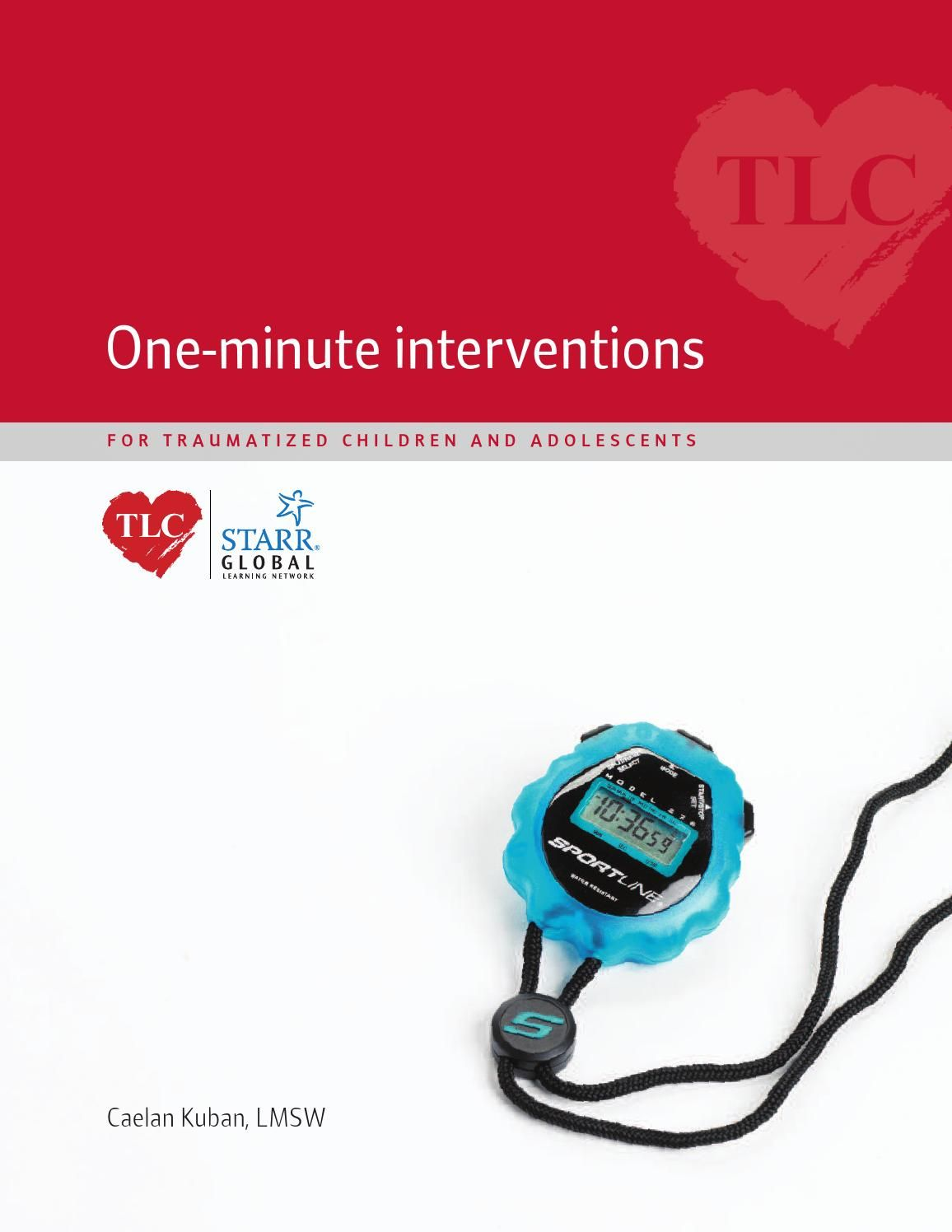Workbooks tf cbt workbook for children : One-Minute Interventions for Traumatized Children and Adolescents ...