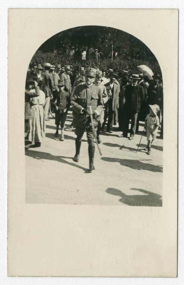 BOLOGNA.Piazza 8 Agosto.Festa Statuto F165 Foto d epoca Old photo Vintage 1915