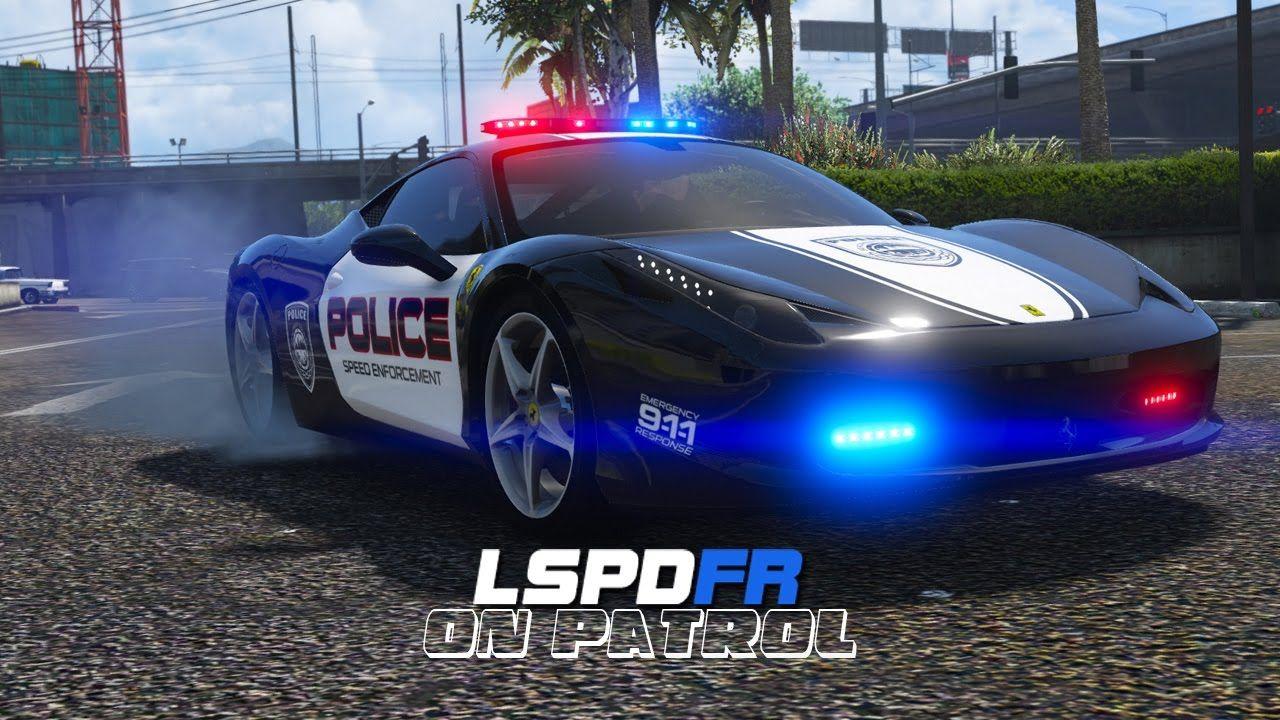 LSPDFR - Day 369 - Ferrari Police Car | LSPDFR | Cars, Police cars