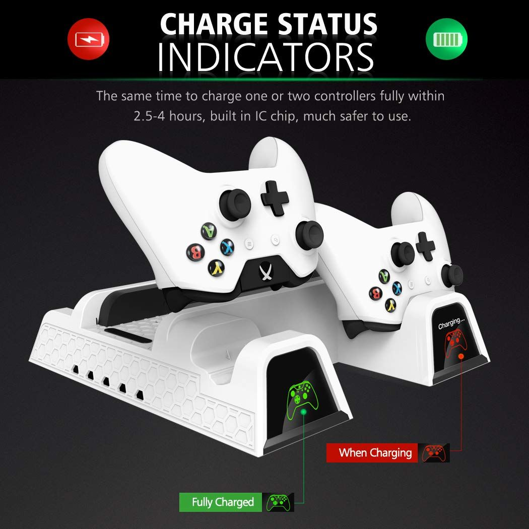 Oivo Vertical Cooling Stand Compatible With Xbox One X Xbox One S