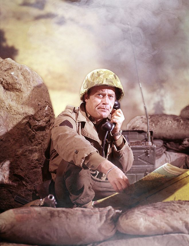 Vic Morrow Combat Combat 1960s Tv Shows Old Tv Shows