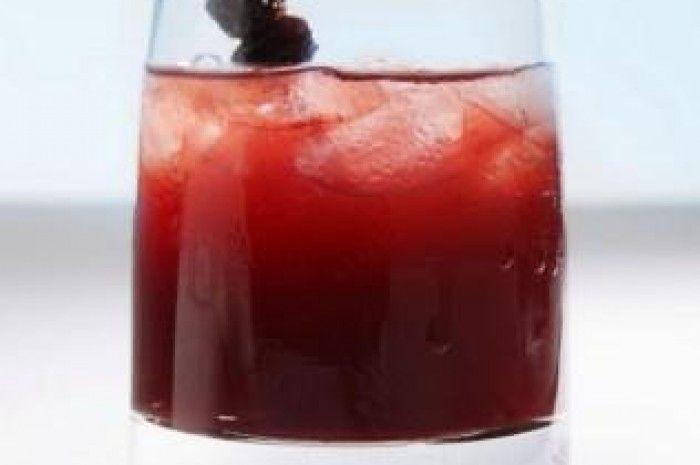 Cherry Club Cocktail- fantastic drink!
