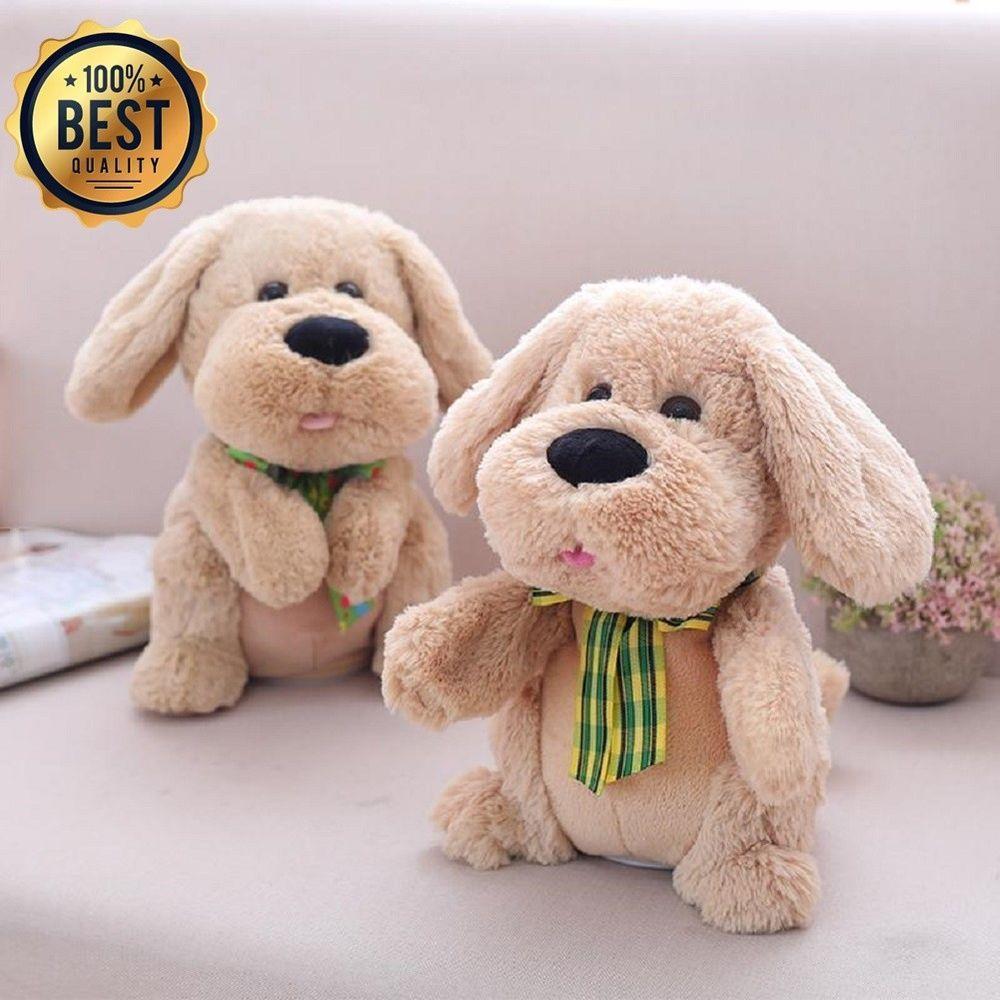 Baby Singing Plush Dog Toy Interactive Toys Kids Pet Funnyfamily