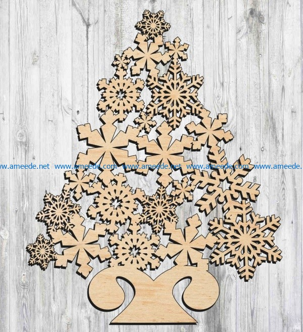 Pin On Christmas File Cdr And Dxf Free For Laser Cut