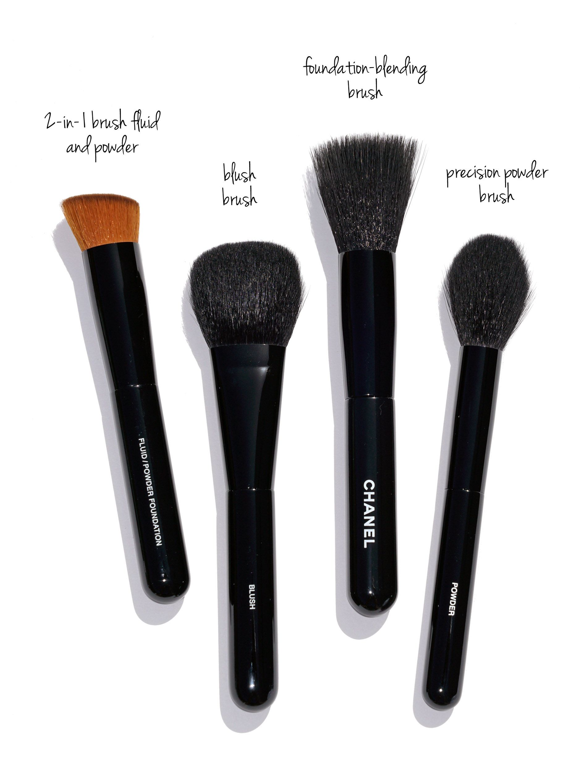 Chanel Makeup Brushes New Design Chanel brushes