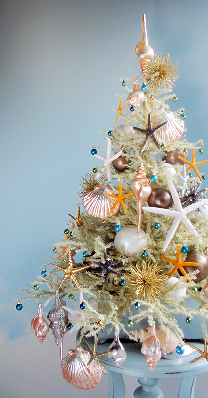 Attractive Christmas Tree Mixture Part - 9: The Most Marvellous Mini Beach Christmas Trees By Tree Decorator Darryl  Moland