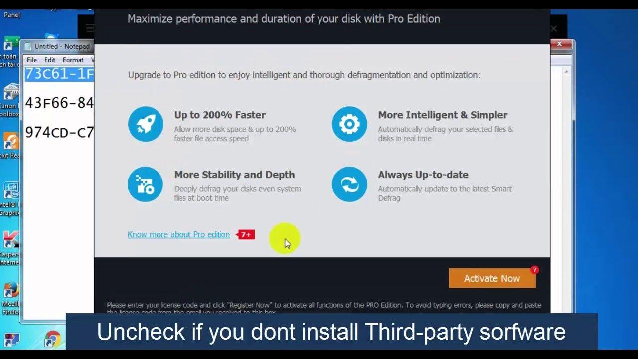 iobit smart defrag 3 pro serial key