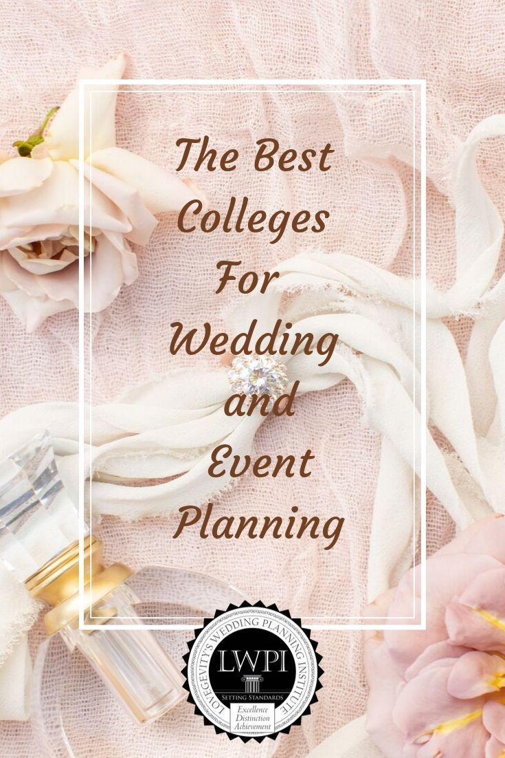 Find a college class near you for wedding event planning