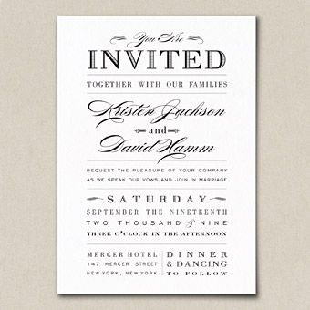 Affordable Invites