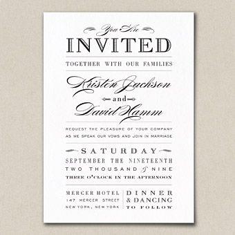 Affordable Invites Invitation wording Wedding and Wedding