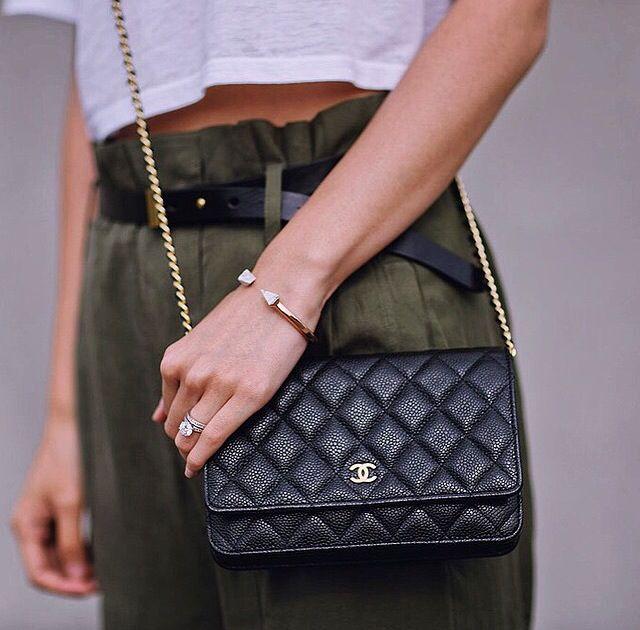 Heyprettything Chanel Woc Chanel Wallet Chanel Handbags