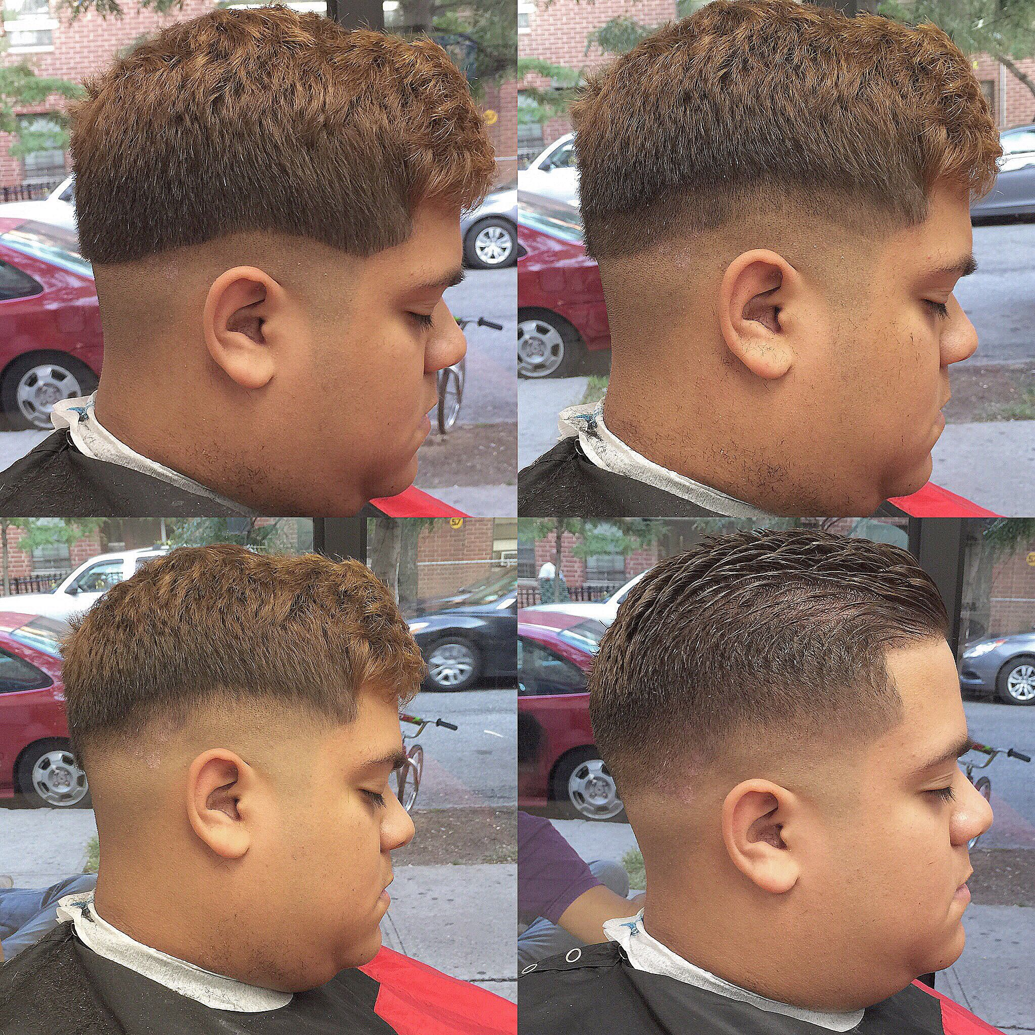Step By Step Process Of A Traditional Low Skin Fade Hair Cuts In