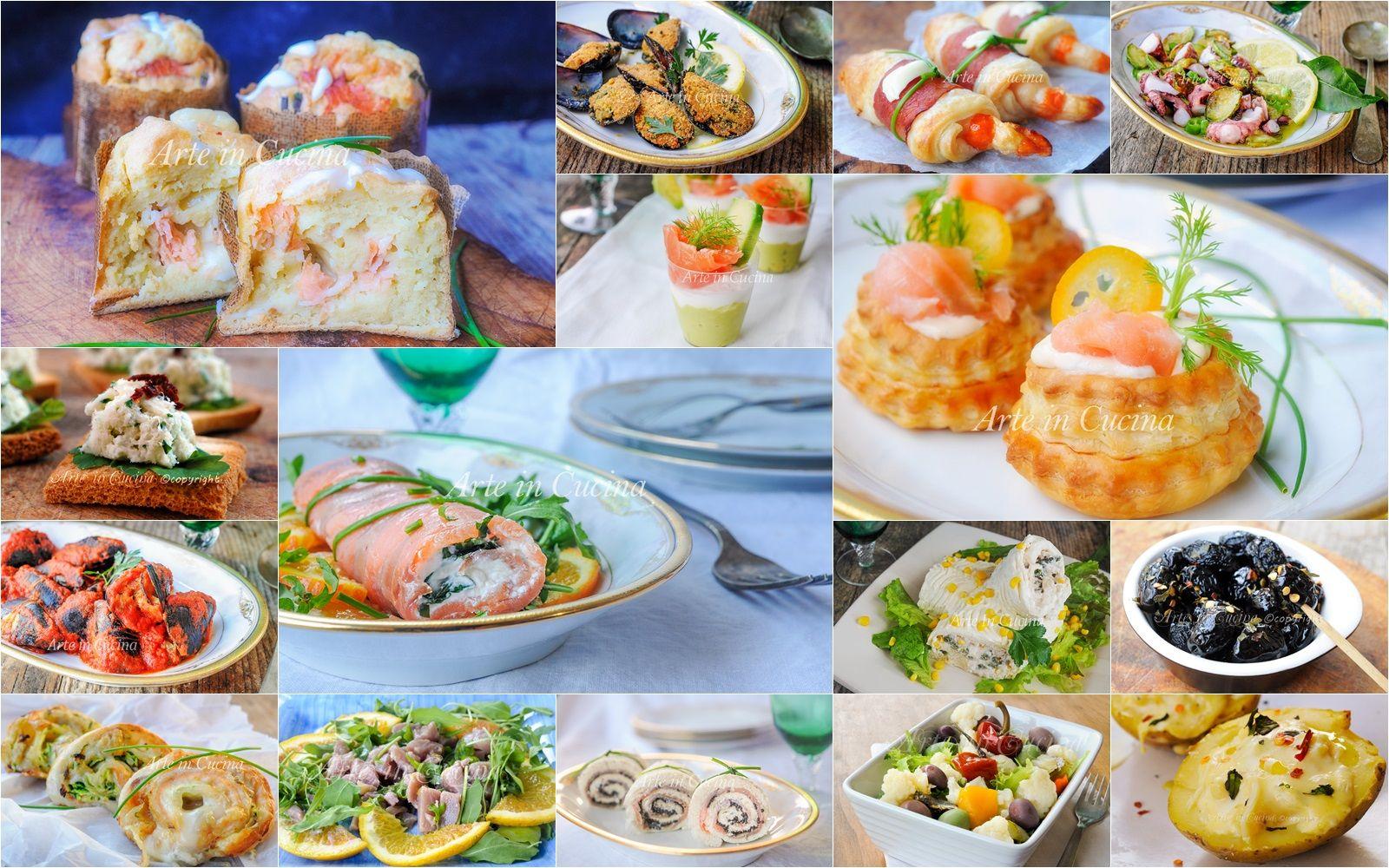 Antipasti Per La Sera Di Natale.Antipasti Vigilia Di Natale Con Pesce Ricette Facili Ricette Facili Ricette Antipasti
