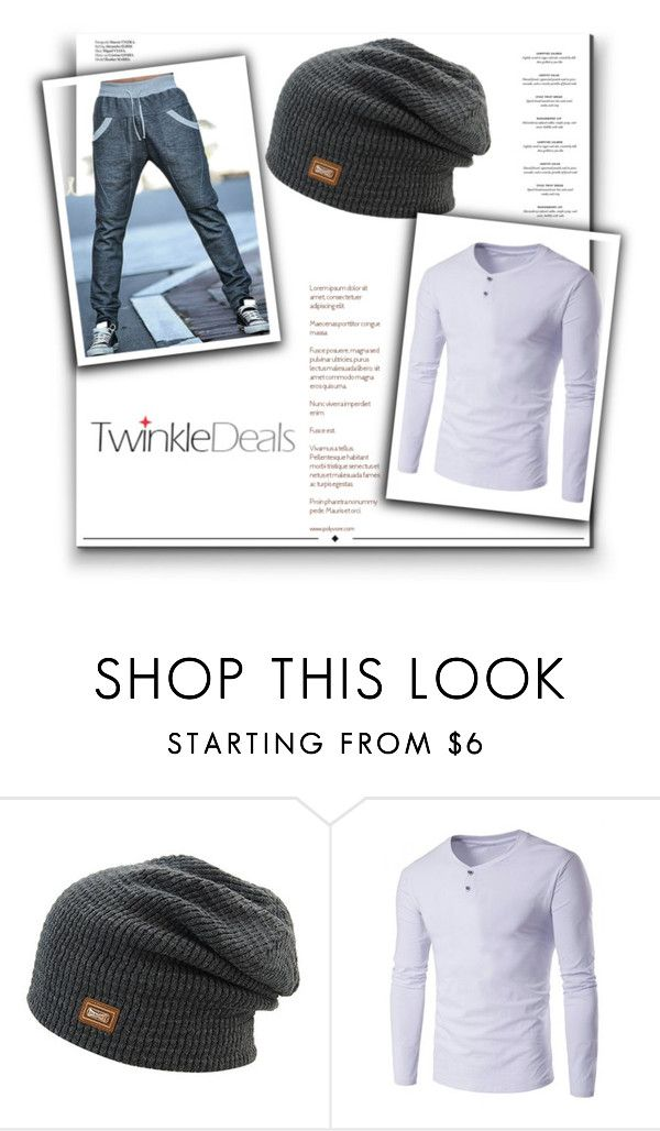 """""""http://www.twinkledeals.com/ 10/1"""" by deyanafashion ❤ liked on Polyvore featuring Haute Hippie, Whiteley, men's fashion and menswear"""