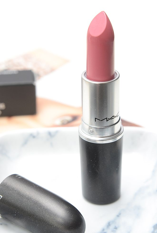 MAC Pink Plaid Matte Lipstick - Make Me Blush