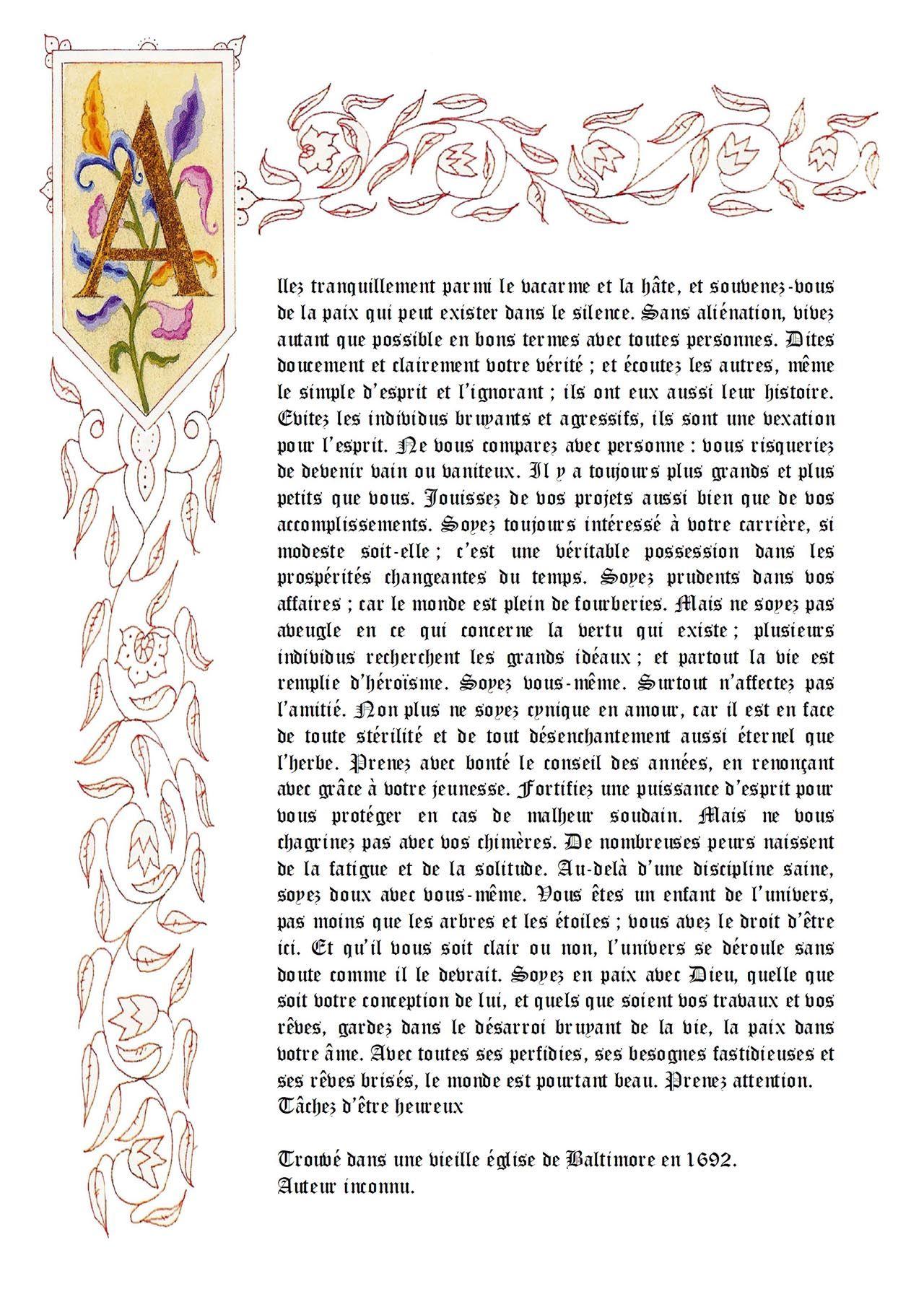 Texte De Baltimore Citation Beau Texte Et Artiste Peintre