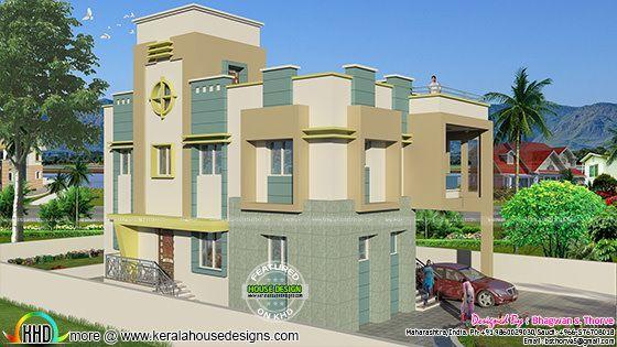 Free floor plan of 2365 sq-ft home Home decor Pinterest House - Construire Une Maison De 200m2