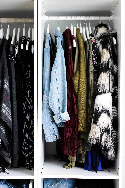 Inspirational Mein Ankleidezimmer PAX Schrank Ikea zeigdeinenPAX Ankleideschrank Blogger Kleiderschrank offen