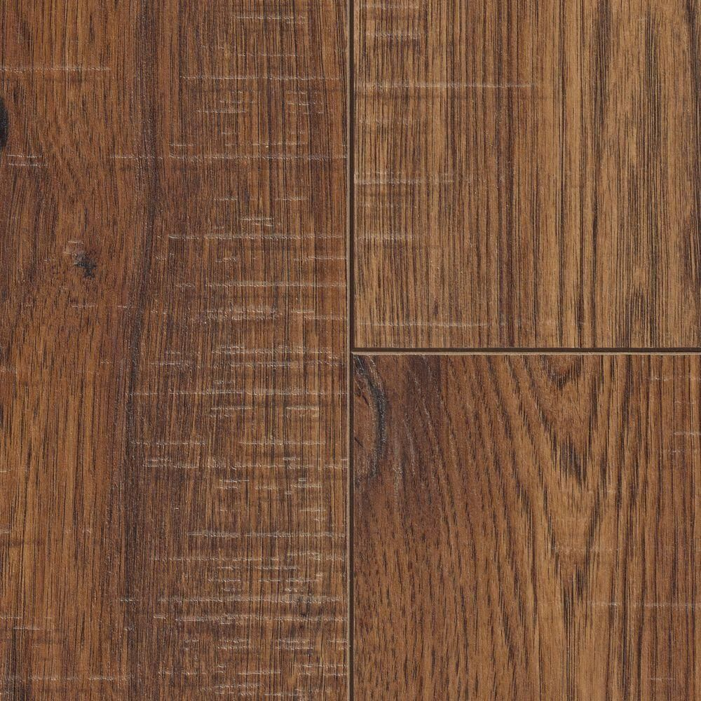 Home Decorators Collection Distressed Brown Hickory 12 Mm Thick X 6 1 4 In Wide X 50 25 32 In Length Laminate Flooring 15 45 Sq Ft Case 34074sq Walnut Laminate Flooring Laminate Flooring Wood Laminate Flooring