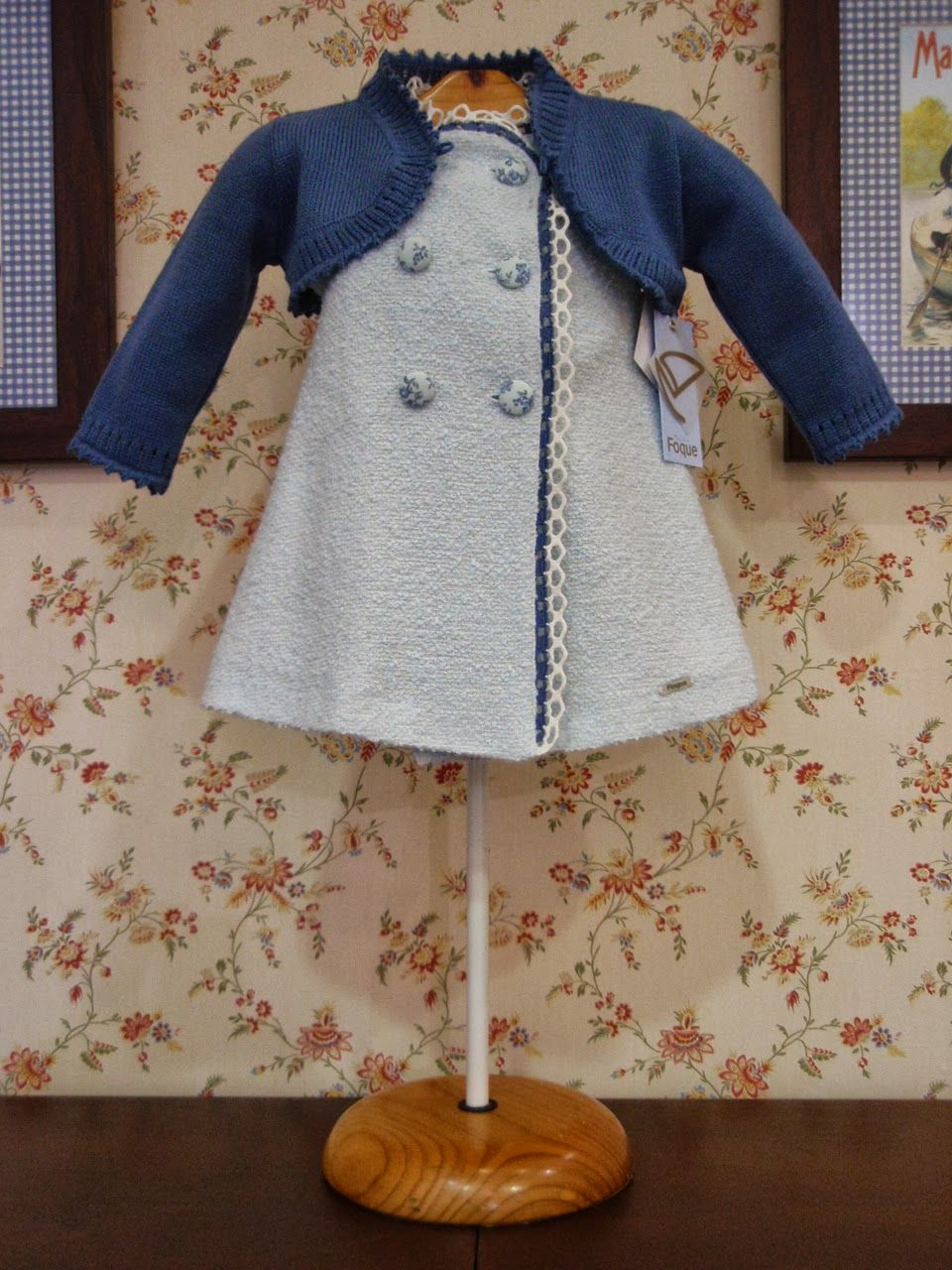 b0cefb9ba Maravilloso este vestido de la colección chanel de Foque, cuidada en ...