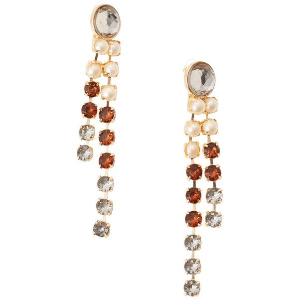 MANGO Faceted Crystal Earring (€18) ❤ liked on Polyvore featuring jewelry, earrings, mango jewelry, facet jewelry, crystal earrings, crystal stone jewelry and earring cuff jewelry