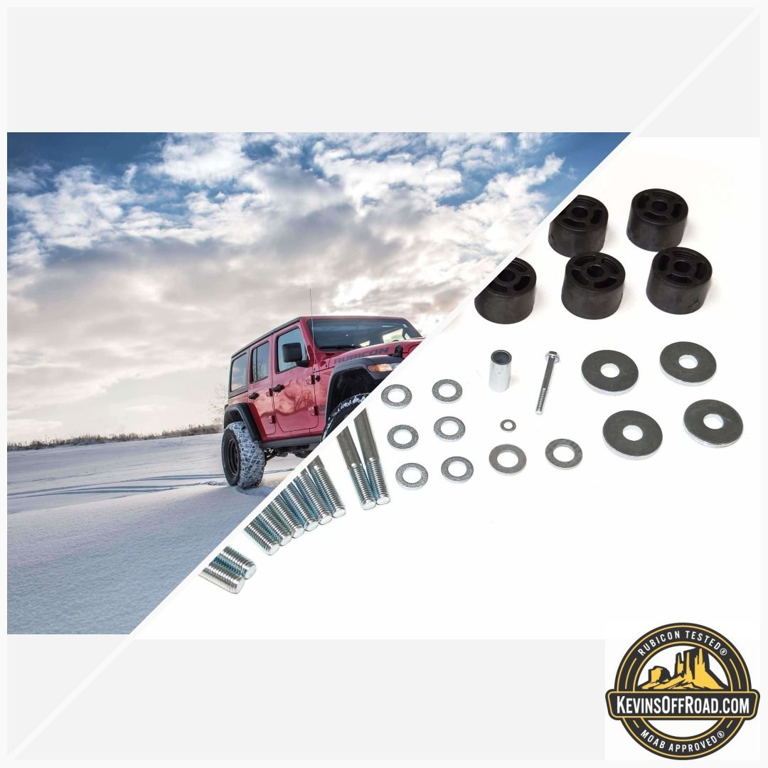 2018 Jeep Wrangler Jl 1 25 Body Lift Kits Zone Offroad Jeep