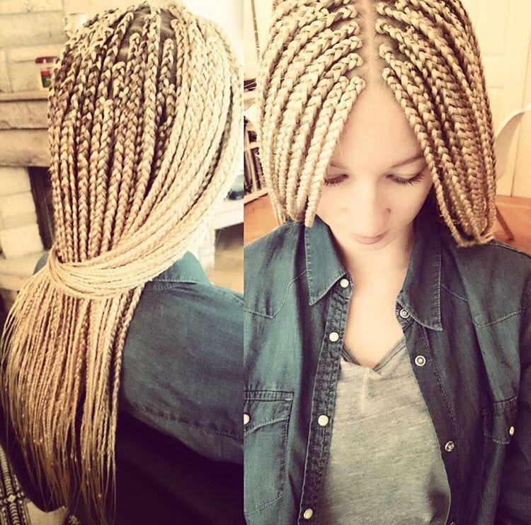 White girl braids | CRIMP/BRAIDS in 2019 | Braids, Box ...