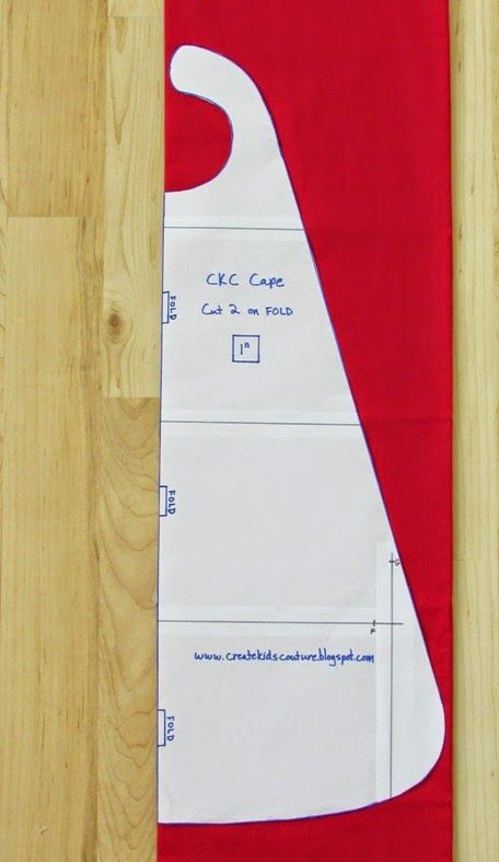 Create Kids Couture: Free Super Cape Pattern! | Needle and thread ...