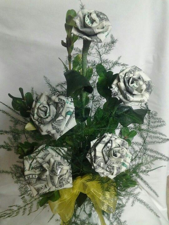 Money Flowers ~ Special Order Made by Maria Da Warden Perez | Money ...