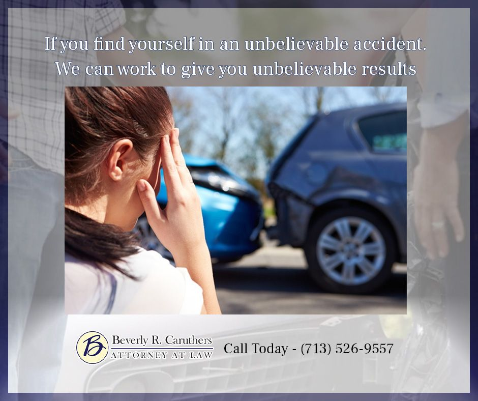 Car Wreck Lawyer in Houston Caruthers