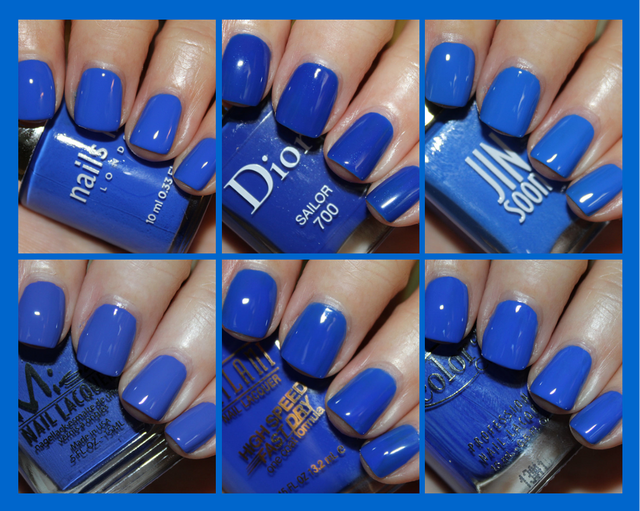 Cobalt Blue Nail Polish Smackdown (Vampy Varnish) | Cobalt blue ...