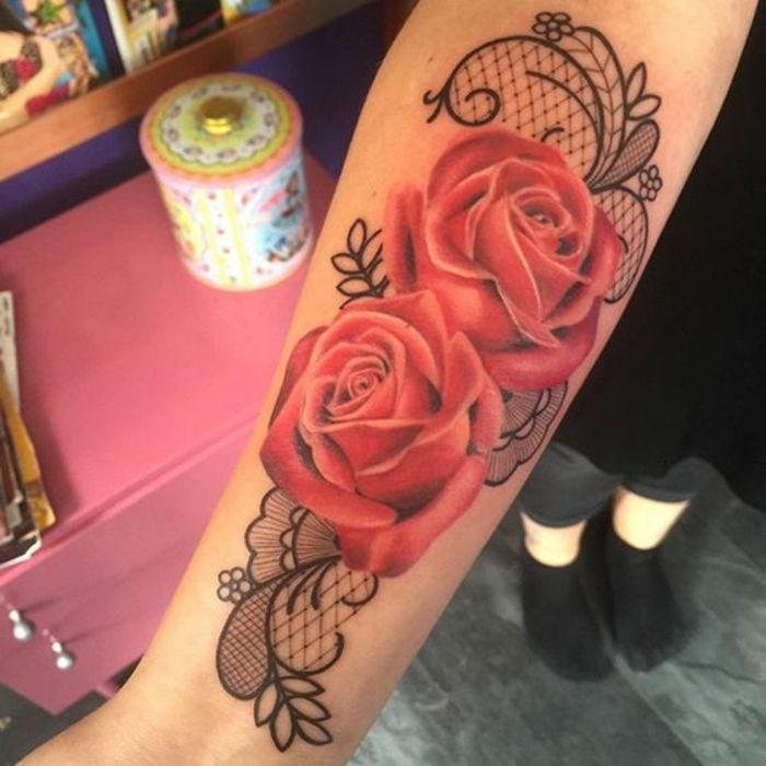 1001 Idees De Tatouage Dentelle Impressionnant Tattoos