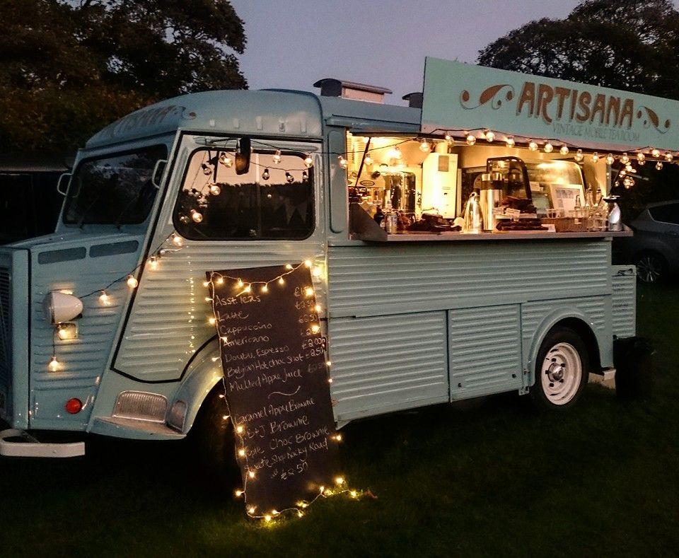 Artisana vintage mobile tea room patisserie coffee