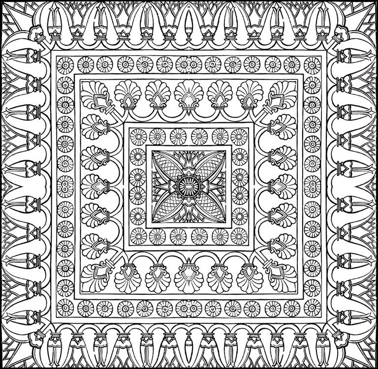 image result for oriental coloring pages