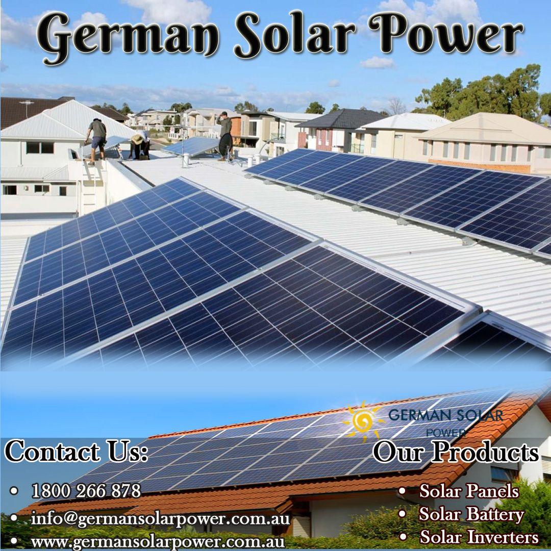 Pin by German Solar Power on Solar system Perth Solar