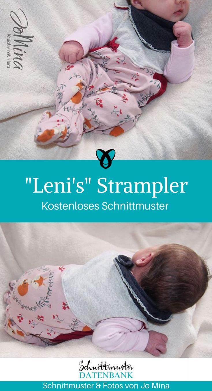 Strampler für Babys #strickenundnähen